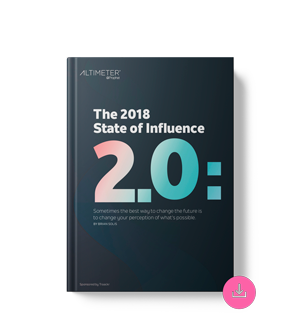 The 2018 State of Influence 2.0